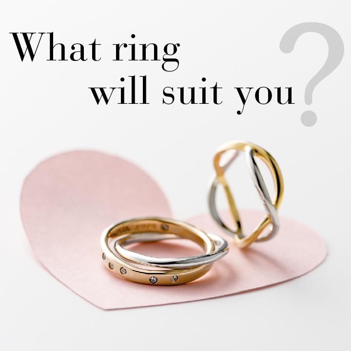 """さりげない""""ふたりらしさ""""をプラス!今ドキ夫婦の結婚指輪の選び方"""