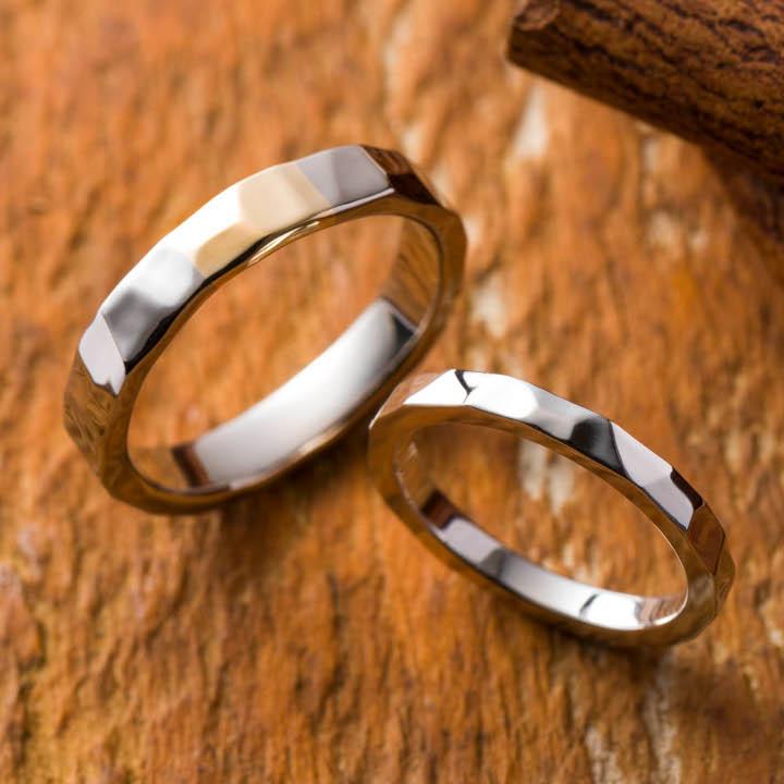 男惚れ!職人技光る結婚指輪