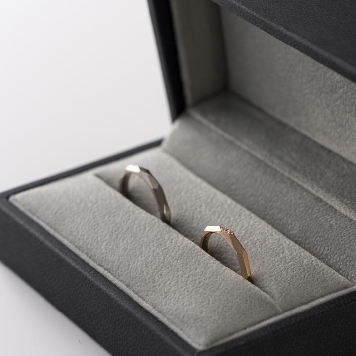 """マニッシュ派注目!毎日着けたい""""ひとひねり""""の結婚指輪コレクション"""