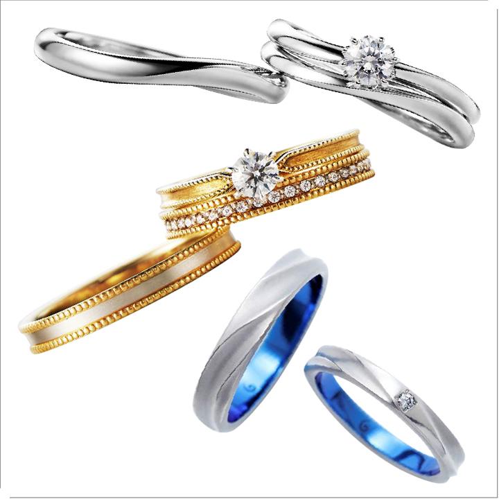 【初めての指輪選び】知っておきたい7つの素材~プラチナ・ゴールドなど~