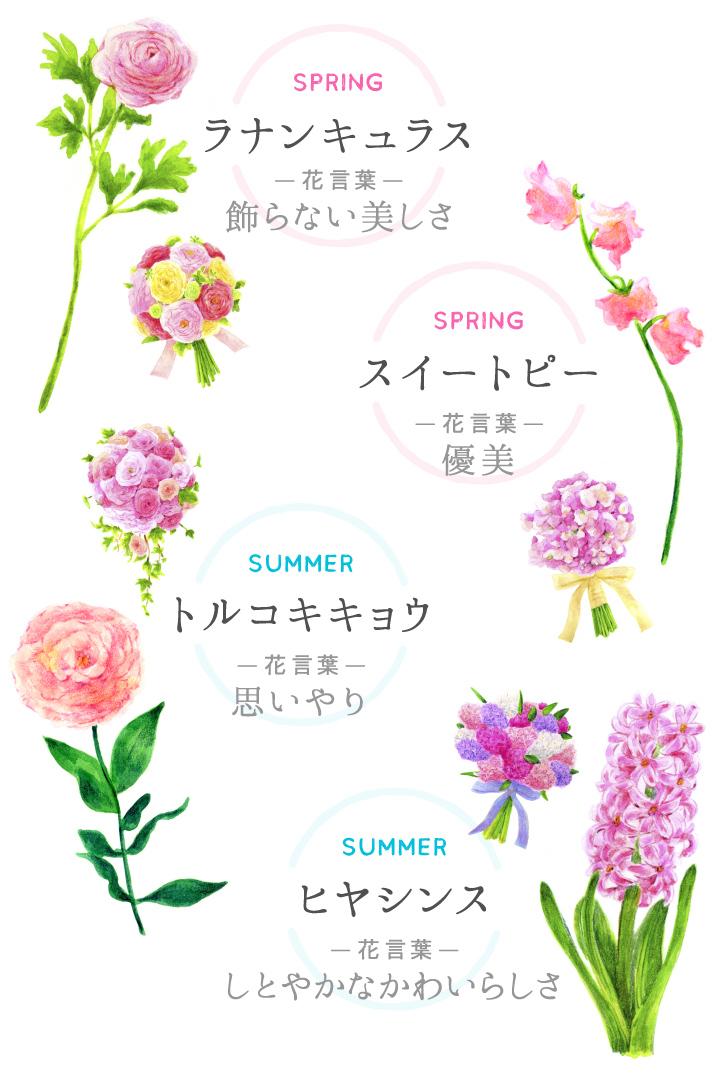 おすすめのお花