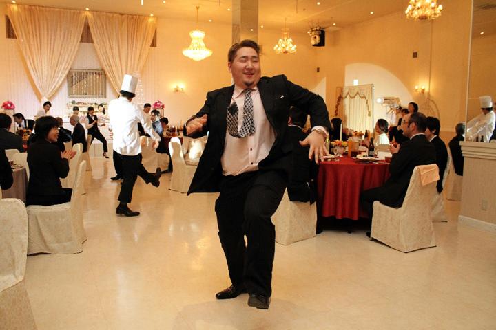プロのダンサーによるフラッシュモブ
