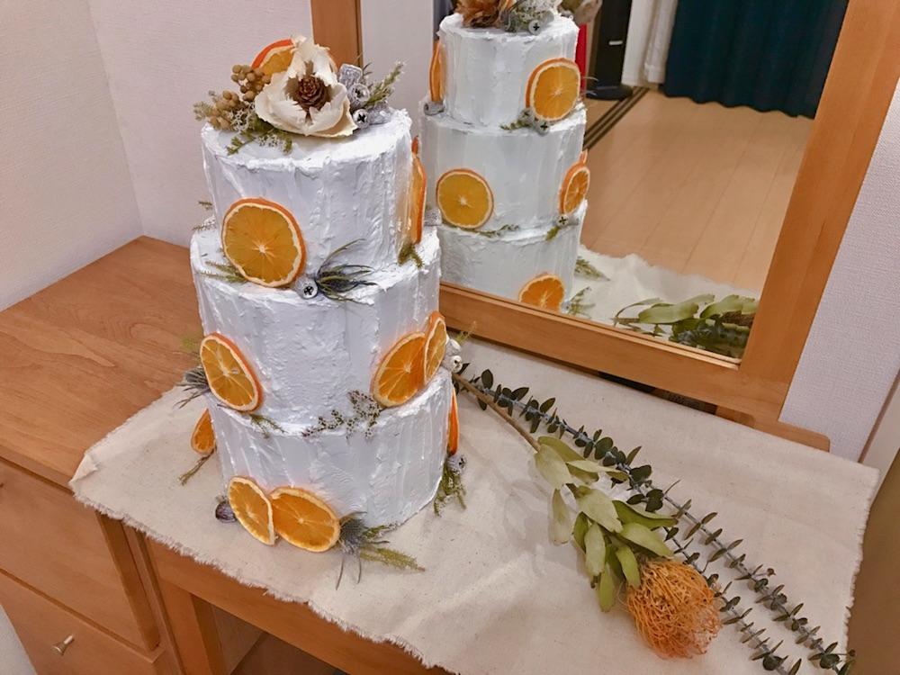 natさんのフェイクケーキ02