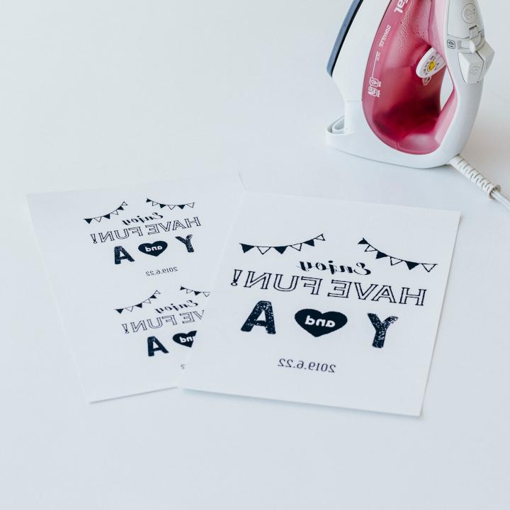 「めおとロゴ」を使った花嫁DIYアイテム、イベント用バッグの作り方