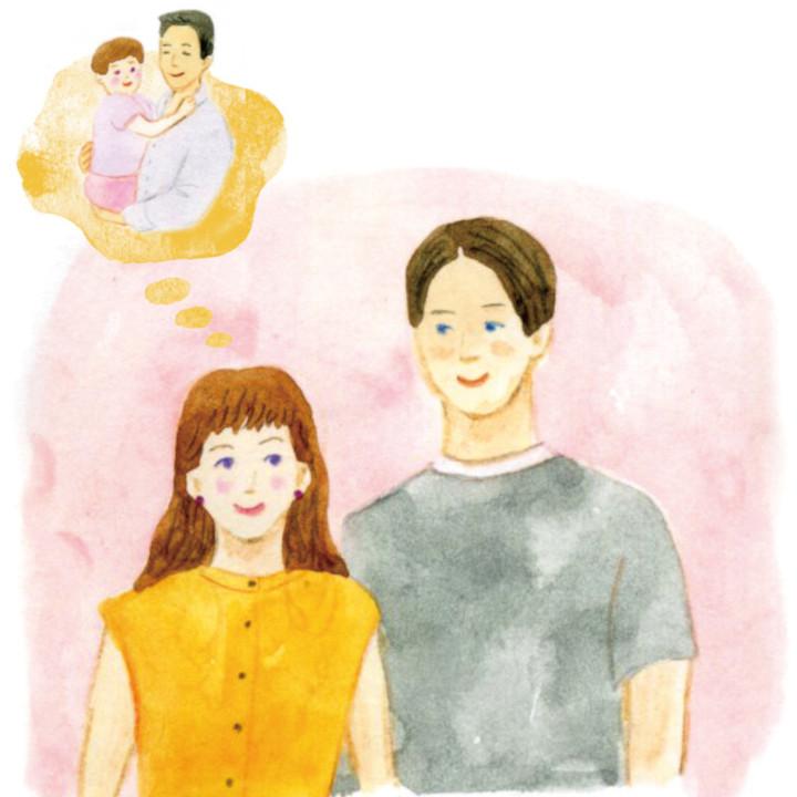 父の愛情のおかげで素敵な人と出会い結婚できることを感謝する花嫁
