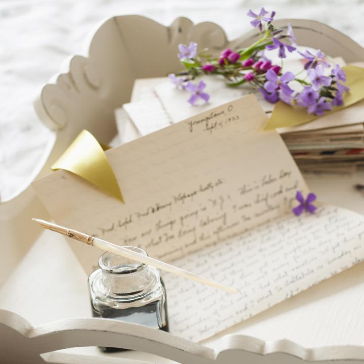 花嫁の手紙のヒントイラスト
