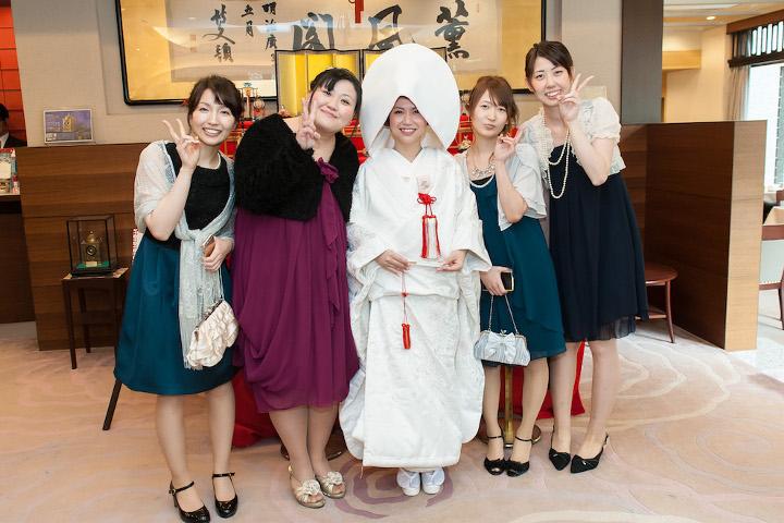 ゲストと花嫁