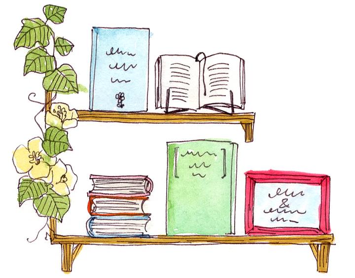 本の実例写真