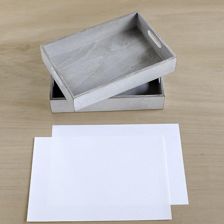 ご祝儀を入れるBOX 、A4サイズの紙