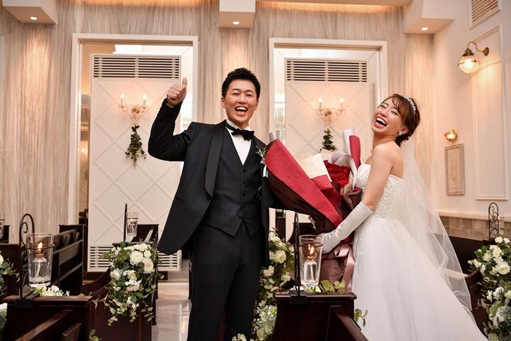 結婚式 サプライズプレゼント