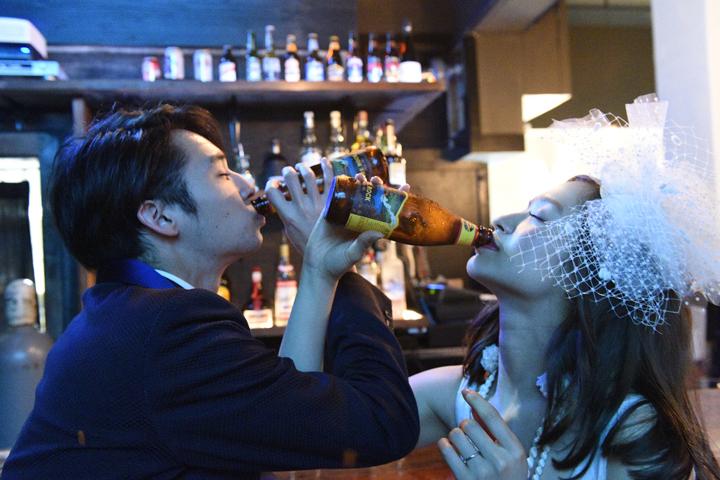 お酒やビールが大好きなふたりには