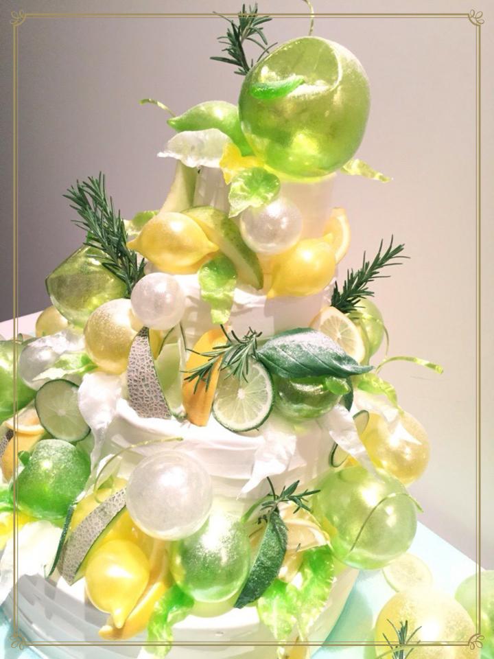 グリーンケーキ