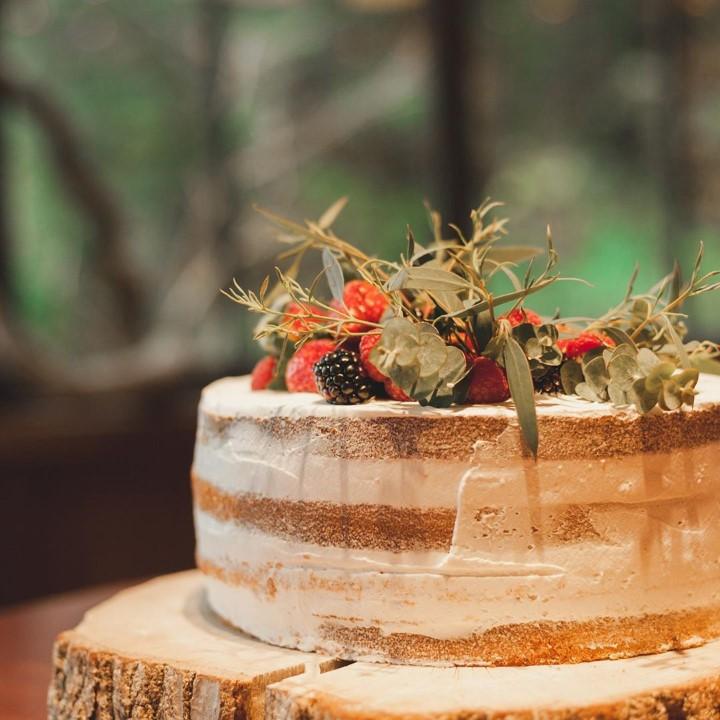 野原風ボタニカル一段ケーキ
