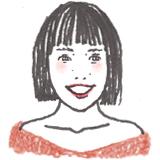 スタイリスト為井さんの似顔絵イラストです