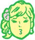 若い女性アイコン