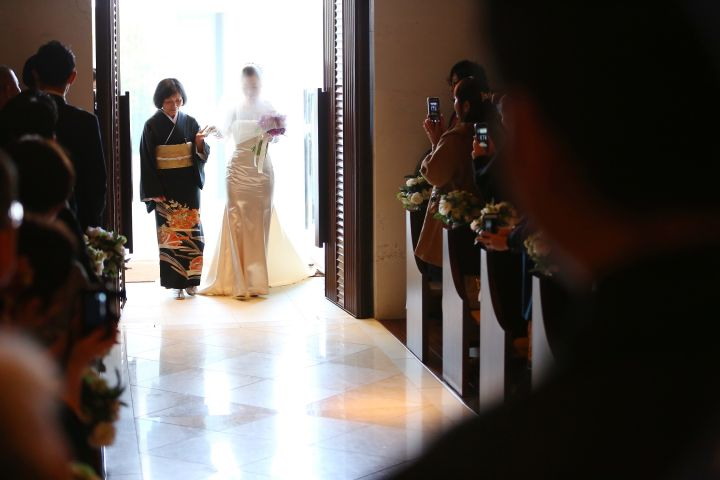 母と歩いた花嫁の声