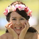 頬杖を突く花嫁