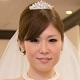 まっすぐ前を見る花嫁