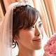 花嫁のほほ笑み