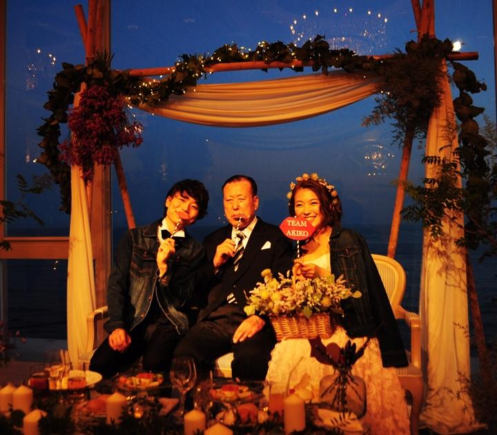 先輩花嫁☆藤原朗子さんのNight Wedding☆