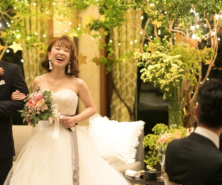 ★先輩花嫁☆中筋三帆さんのNight Wedding★