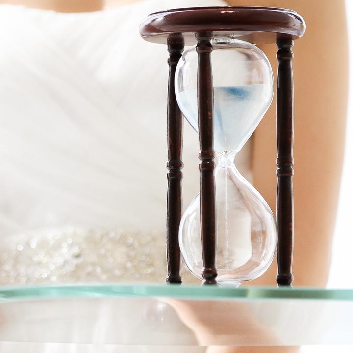 砂時計のセレモニー