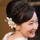 花嫁さんの顔写真
