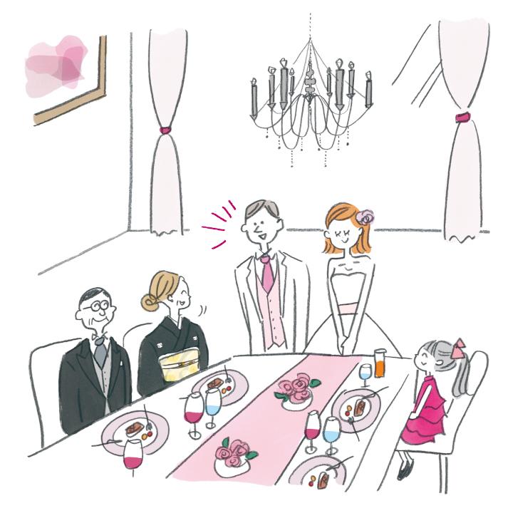 少人数ウエディング・家族だけの結婚式