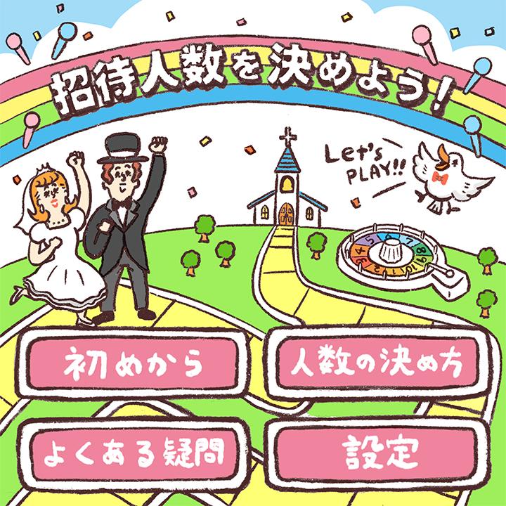 結婚式 招待人数 決め方