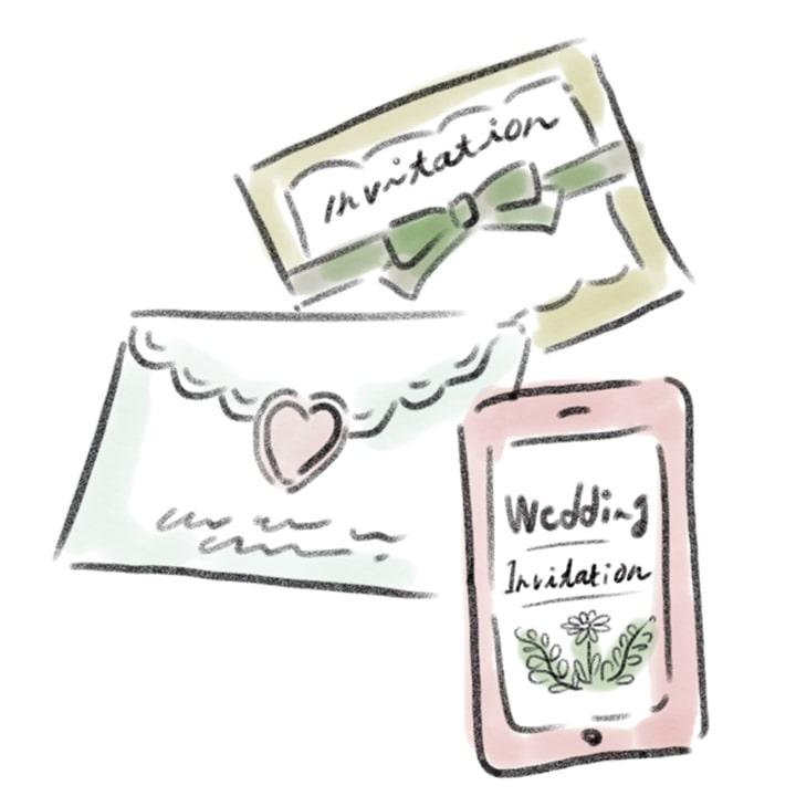 少人数婚の招待状