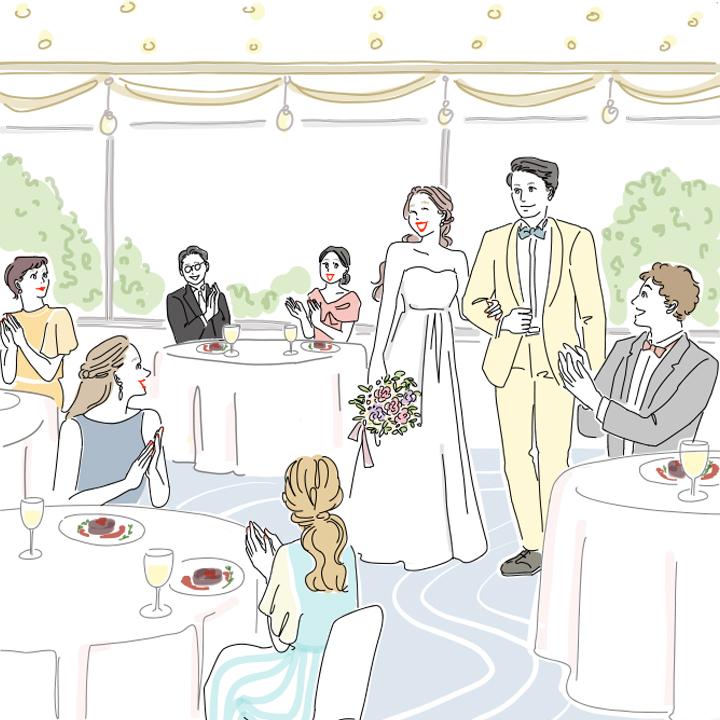 シーン2:披露宴・パーティの雰囲気を思い浮かべよう