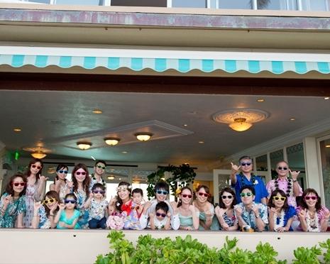 家族でわいわいなビーチサイドパーティ♪