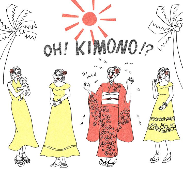 日本の結婚式とドレスコードが違うのかーい!