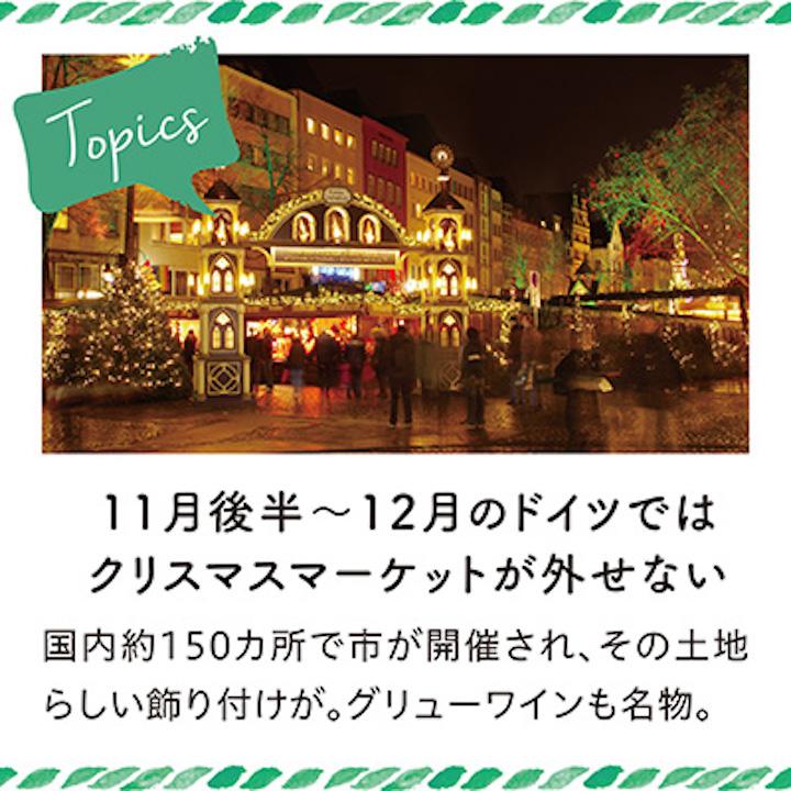 クリスマス市のトピックス