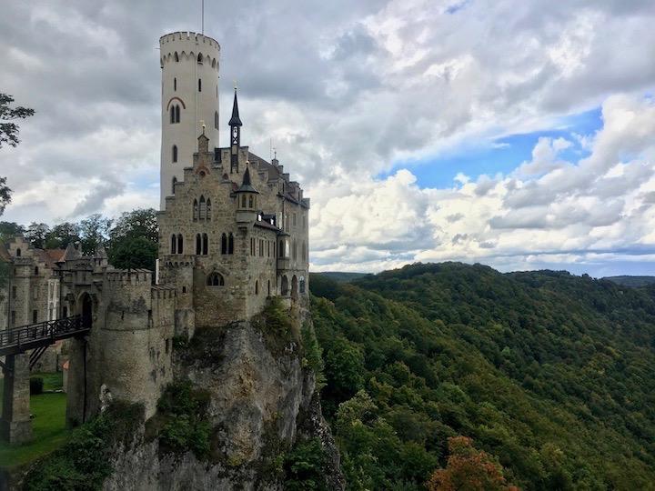 物語に出てくるような美しい古城