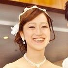 花嫁さん笑顔