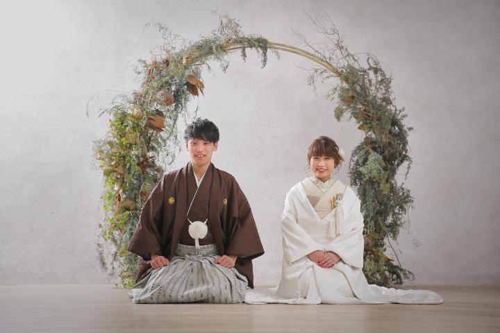 【2】和装の王道! 正座ショット